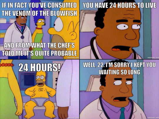 The Most Traumatic Simpsons