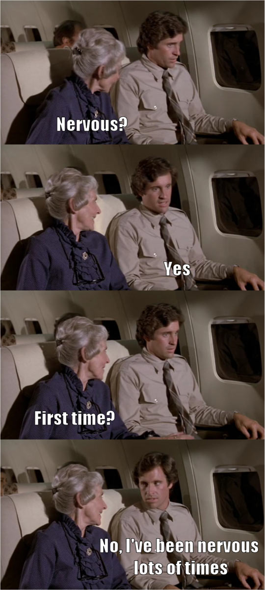 One Of The Best Lines From Airplane
