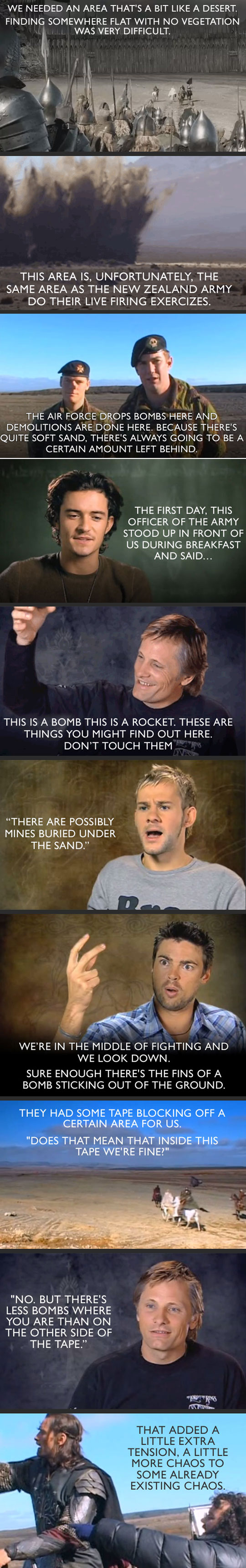 Problems Filming Lord Of The Rings