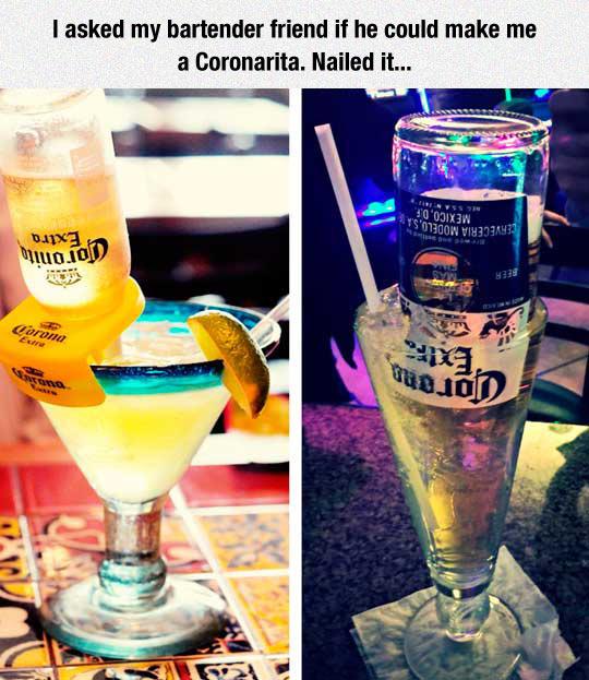 I Would Like A Coronarita