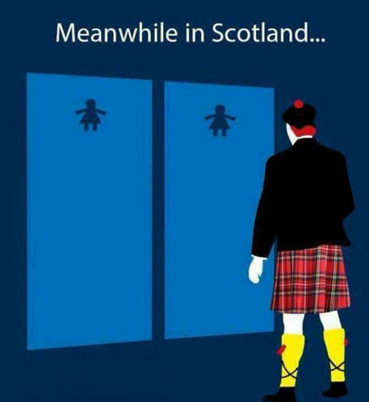 funny-bathroom-baby-Scotland-skirt