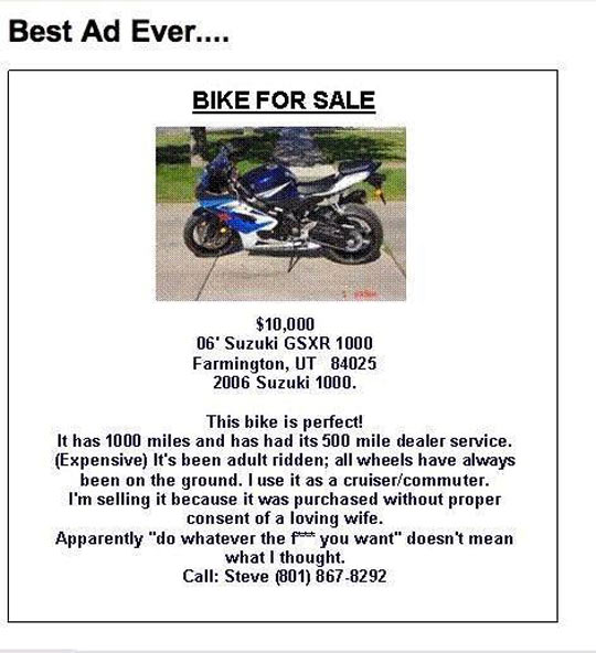 funny-best-ad-bike-sale