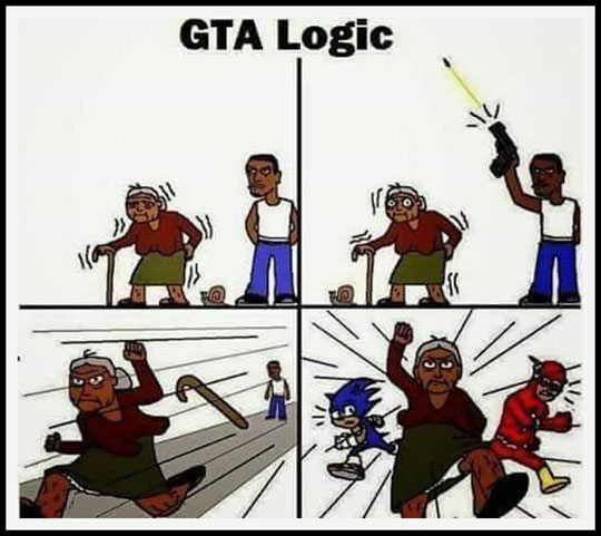 GTA Logic Keeps On Surprising Me