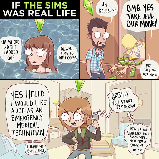 funny-cartoon-Sims-real-life