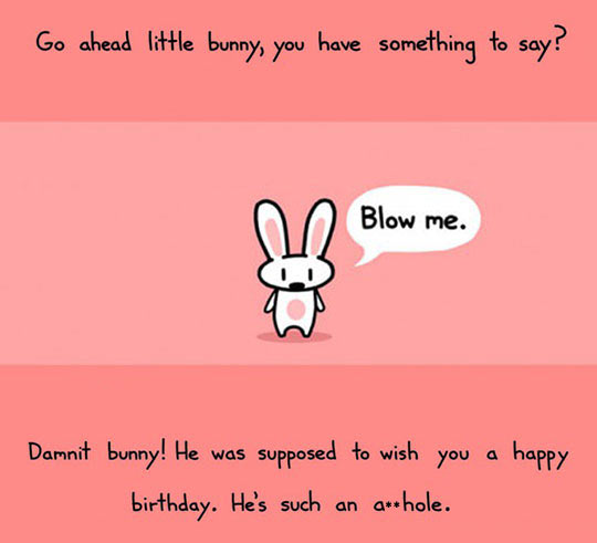 Oh No, Little Bunny