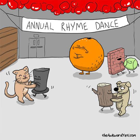 funny-cartoon-orange-rhyme-alone