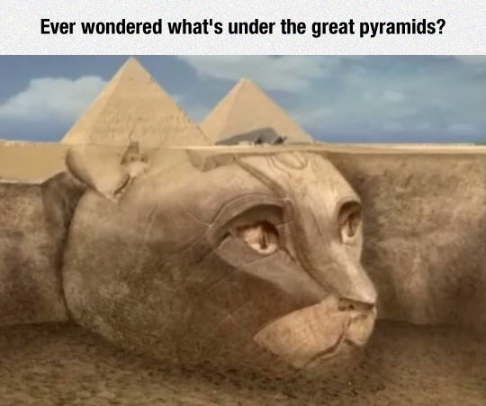 The Giant Egyptian Cat