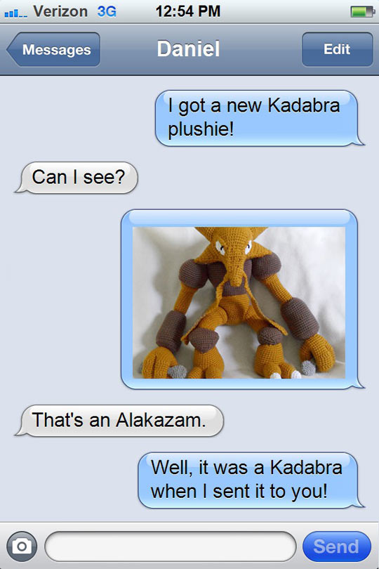 What Happened With Your Kadabra Plushie?