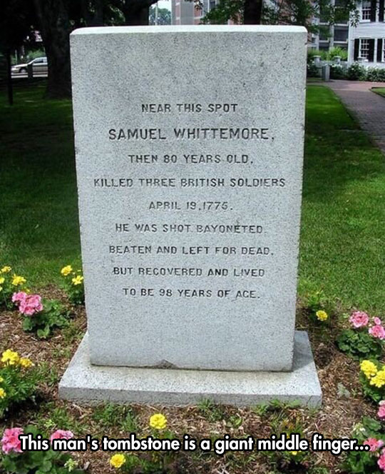 The Most Awesome Tombstone You