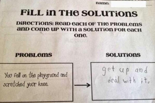 funny-fill-solution-test-problems