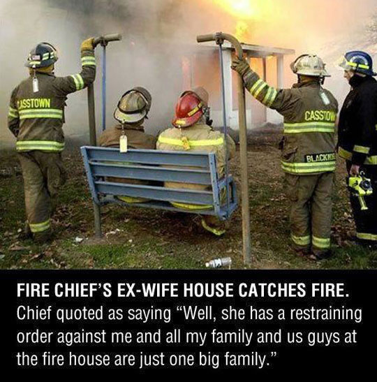 funny-firefighters-waiting-fire-ex-wife