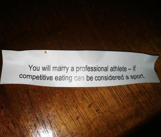 Fortune Cookie Doesn