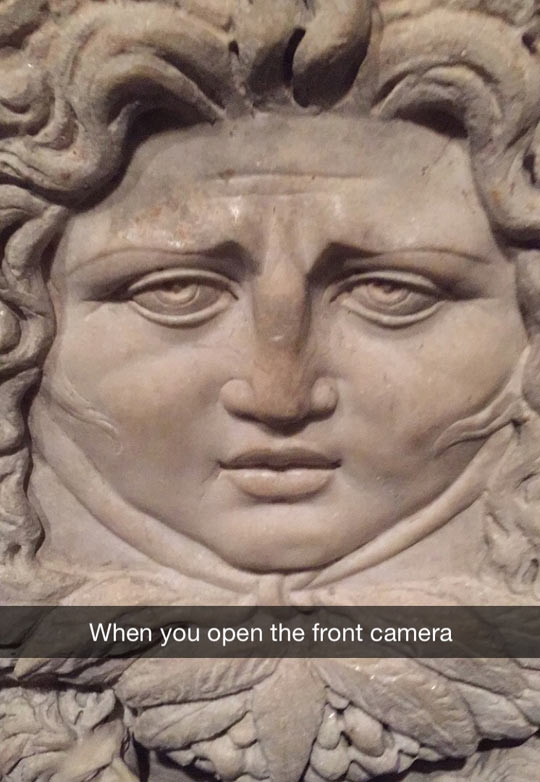 Opening The Front Camera