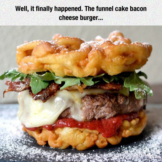 funny-funnel-cake-bacon-cheese-burger