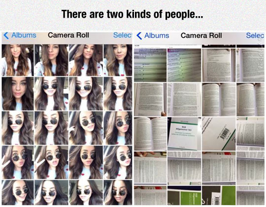 Two Kinds Of Camera Rolls