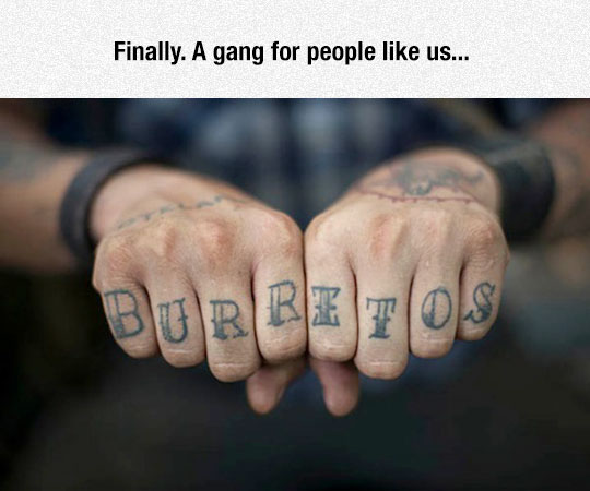 Let The Burrito People Get Together