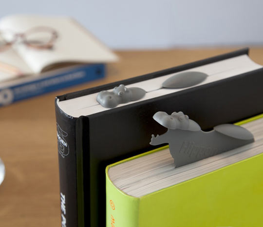 Hippo Bookmarks Are So Cute