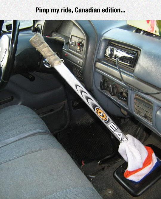 funny-hockey-stick-car-gear