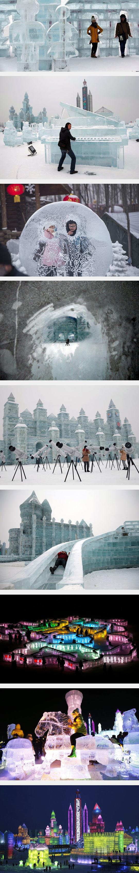 funny-ice-train-snow-winter-sculpture-piano