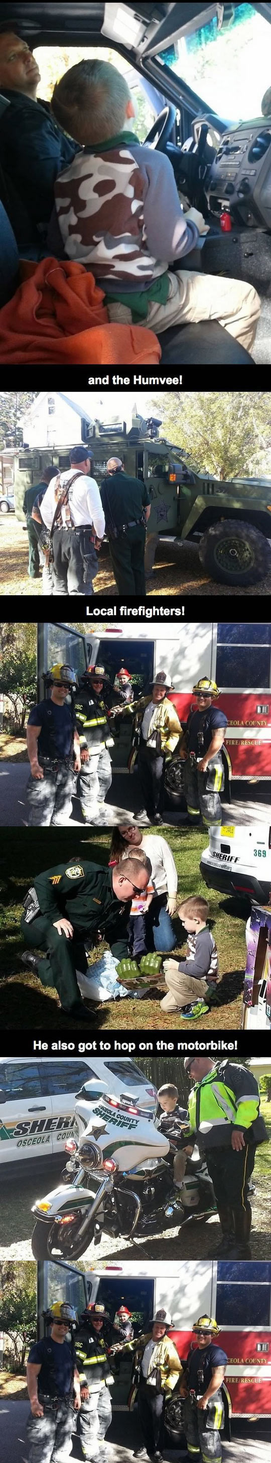 funny-kid-autism-birthday-community-showed-up-firefighter