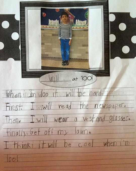 funny-kid-essay-hundred-years