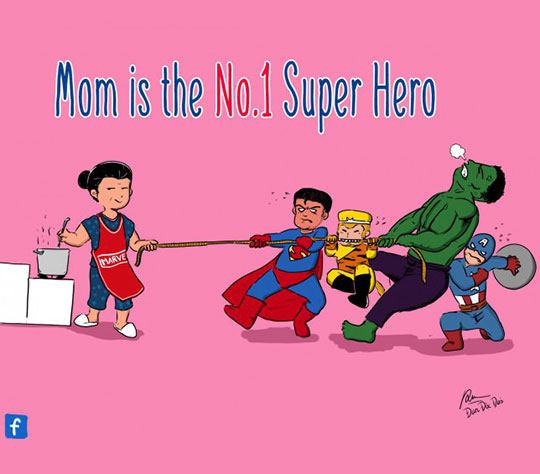 The Best Superhero Of All