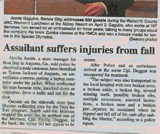funny-newspaper-assailant-suffers-injuries