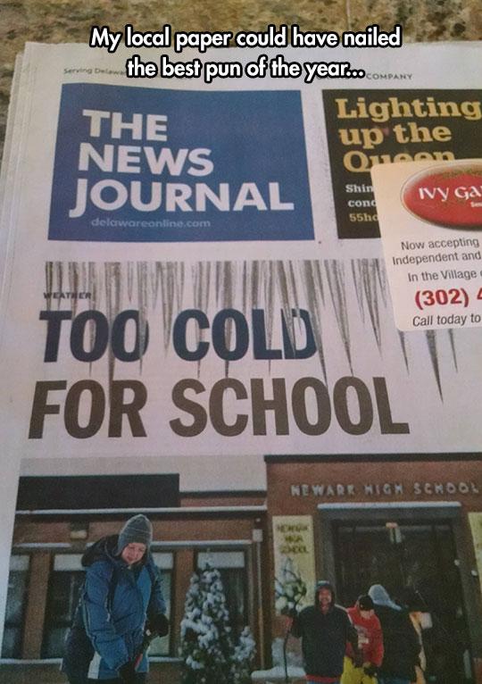 funny-newspaper-headline-cold-school