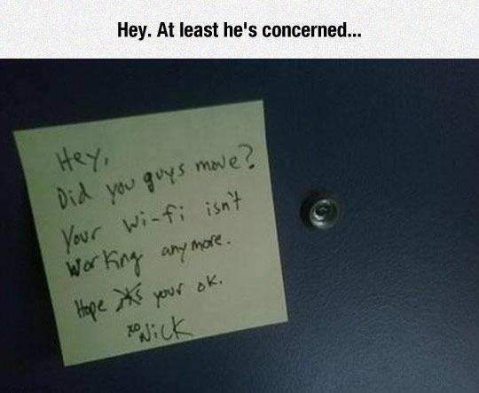 A Concerned Neighbor