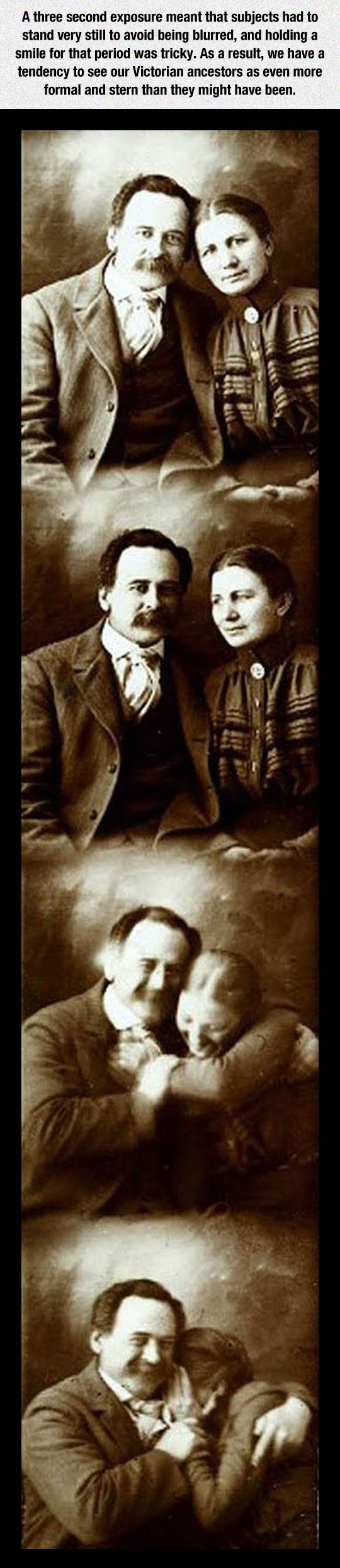 Victorian Couple Share A Giggle