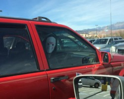 Creepy Moment At Walmart