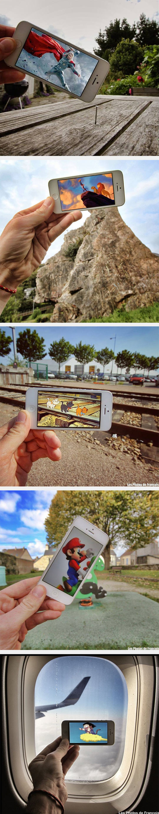 Awesome Phone-Reality Photo Series