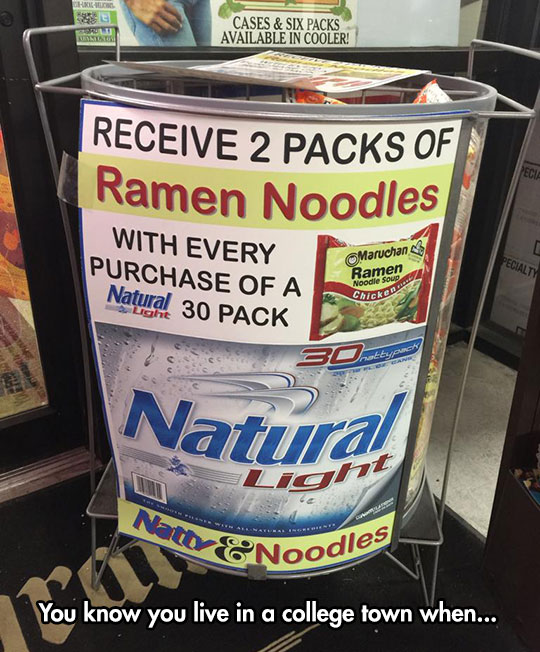 If This Was My Town I Would Have So Many Ramens Right Now