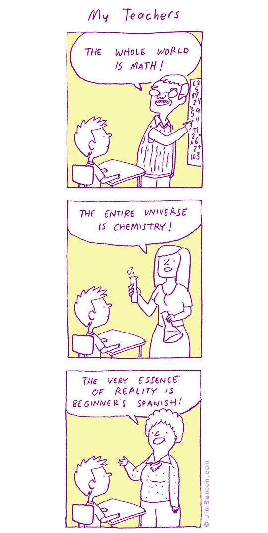 What Teachers Think About Their Discipline