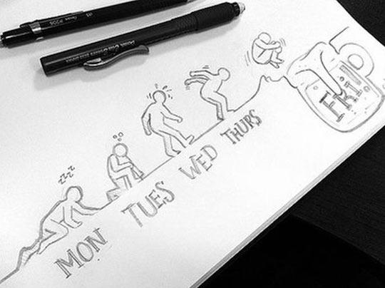 funny-week-men-beer-jump