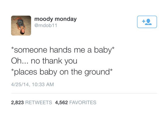 funny-woman-Twitter-baby-ground
