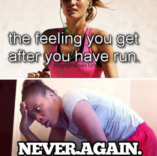 That Special Feeling After You Run