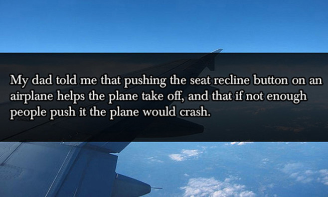 lies-your-parents-told-you-airplane-seat-recline-button