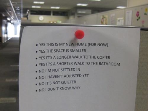 14 Passive Aggressive Office Notes