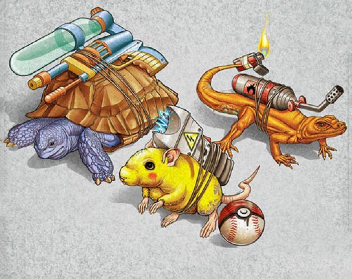 Ideas To Make Pokemon Real