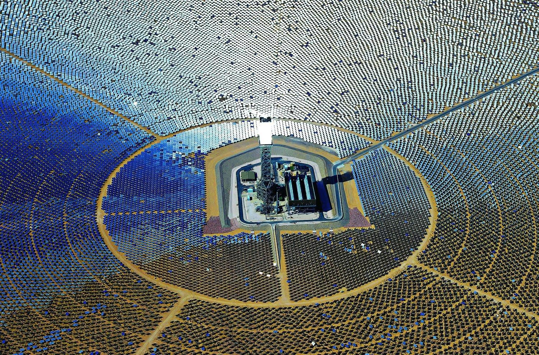 Solar Farm in the Mojave Dessert