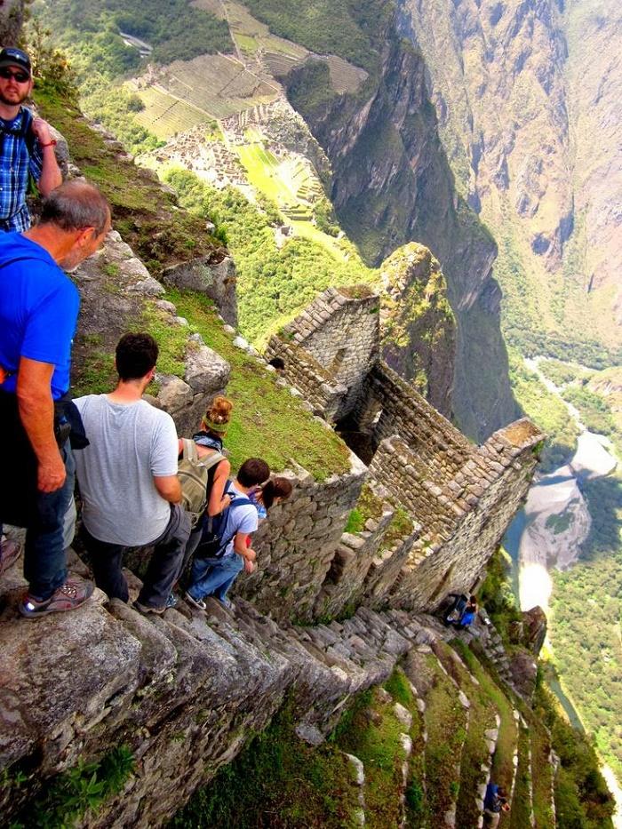 Vertigo at Machu Picchu