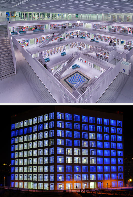 cool-Stuttgart-library-tidy-public-architecture