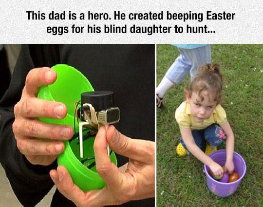 cool-beeping-Easter-egg-hunt-blind-daughter