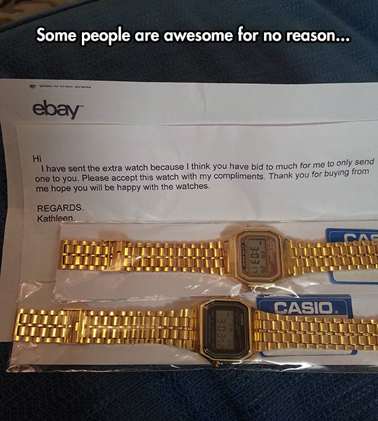Not Everyone On eBay Is A Douche