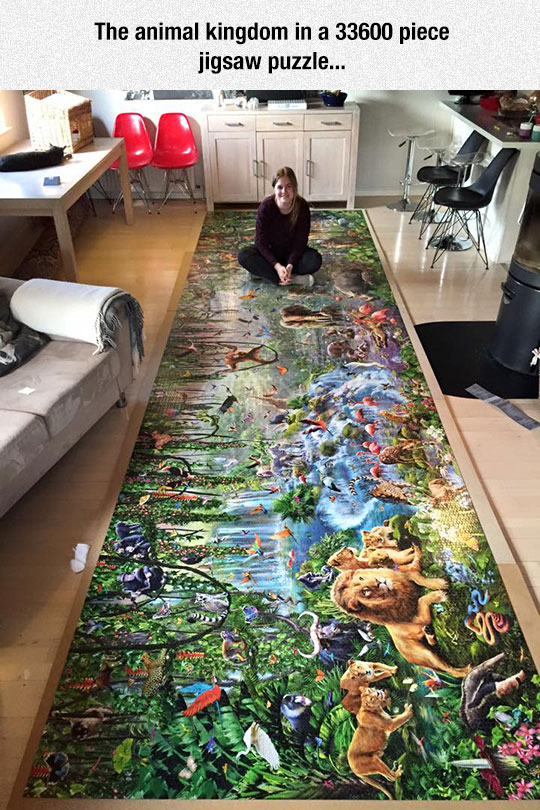 Massive Jigsaw Puzzle