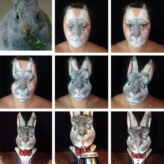 cool-girl-bunny-face-makeup
