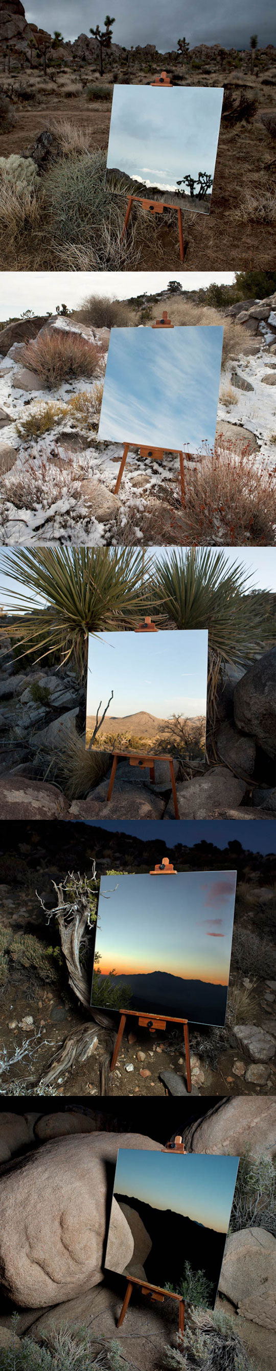 Photos Of Mirrors In The Desert