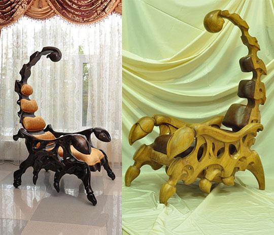 cool-wood-chair-sculpture