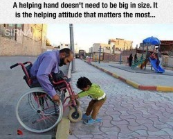 Being Helpful To Others